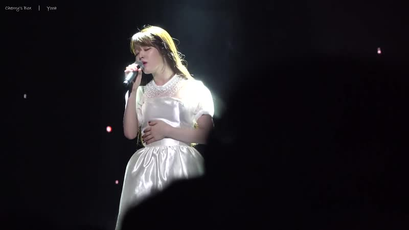 · Fancam · 181020 · OH MY GIRL Seunghee Dear Name IU Cover · Второй сольный концерт Fall Fairy Tales День 1 ·