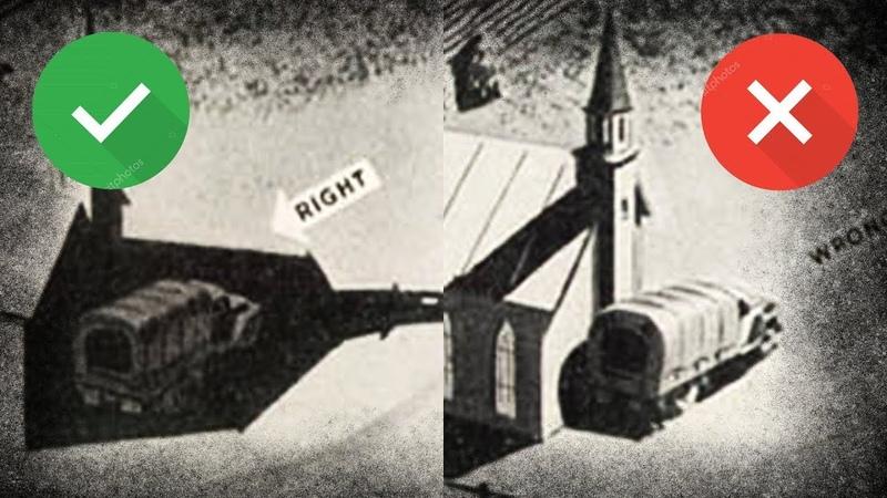 Как Американцы Прятали Технику От Наблюдения С Воздуха Советы Второй Мировой