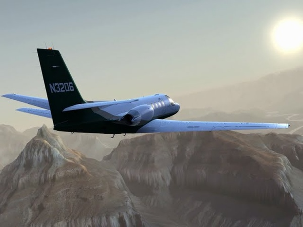 Carenado S550 Citation II FSX/P3D