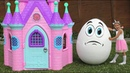 Kid Fun Pretend Play with Playhouse for kids Sofia play with Humpty Dumpty