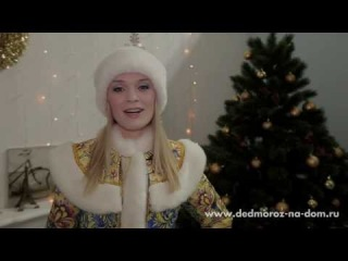 VIP Дед Мороз и Снегурочка Евгений и Юлия. Эксклюзивный костюм Хохлома.