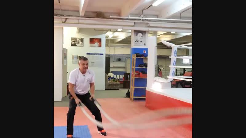 Константин Цзю Тренируется