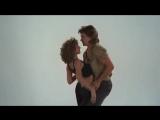 Jennifer Grey e Patrick Swayze -Teste de palco