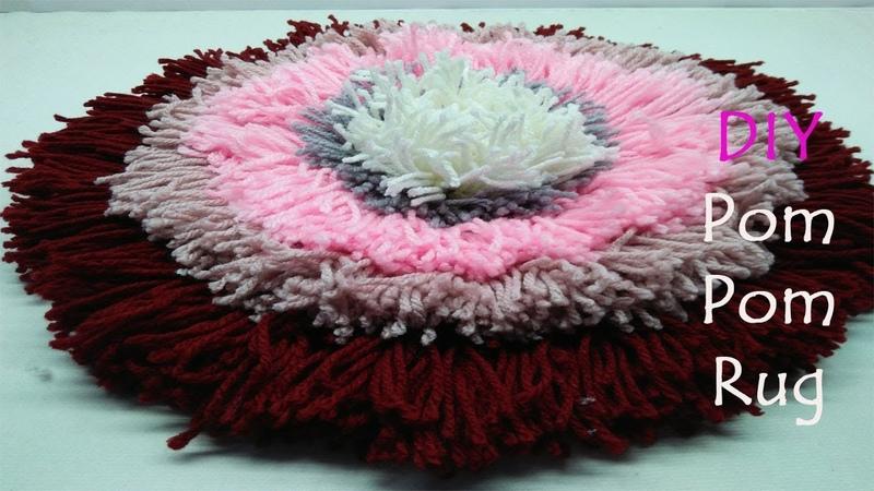 DIY Doormats I How to make doormats using woolen I Doormats making idea - Craft projects