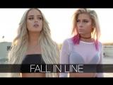 Christina Aguilera, Demi Lovato - Fall In Line (Andie Case Macy Kate Cover)