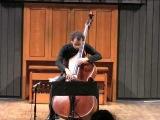 Bass'2008 in Paris Lera Auerbach - Monolog - for solo db