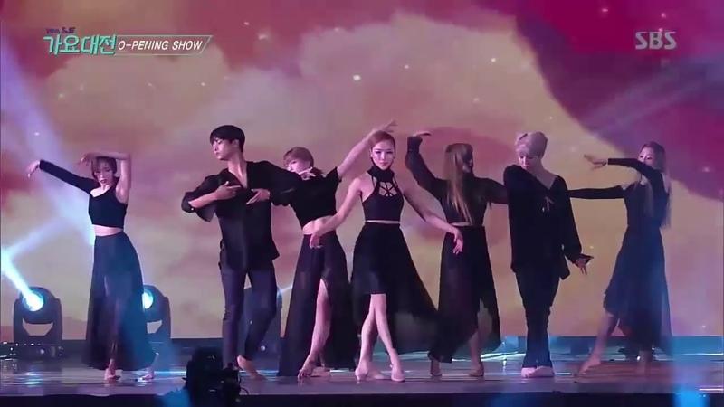 Jimin BTS Dance Martin Garrix Bebe Rexha In The Name Of Love @ SBS Gayo Daejun 2016