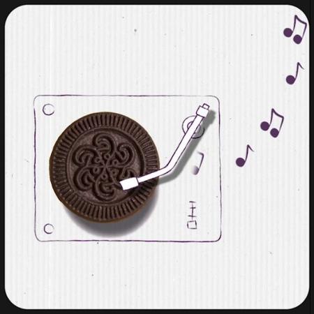 """M.Tarık Bekmez on Instagram: """"objectart oreo cookie art 2danimation stopmotion cute creative follow arte love animation aftereffects ..."""