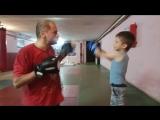 5 летний Ярослав на тренировке )