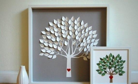 Как сделать декоративное панно из бумаги