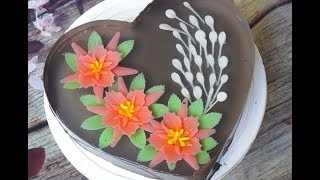 3D Gelatin Art | Gelatin art cake decorating - Gelatin art ingredients