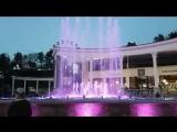 Музыкальный фонтан в Кисловодске.