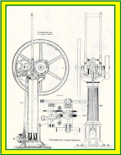 чертежа двигателя подобной