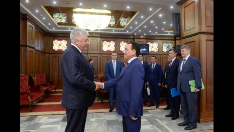 Владимир Колокольцев и Кашкар Джунушалиев обсудили важные аспекты российско-киргизского сотрудничества в правоохранительной сфер