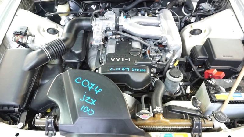 Запуск ДВС 1JZ-GE Toyota Chaser JZX100 [C074]