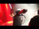 Джонни Депп на концерте Мерлина Менсона и рядом прыгает Die Antwoord