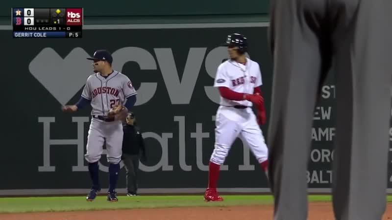Postseason 2018. ALCS. Houston Astros at Boston Red Sox. Game 2