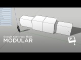 Digital Painting: Modular thinking with google Sketchup