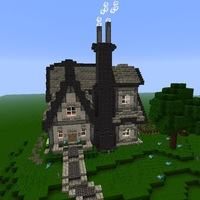 Красивые дома в minecraft