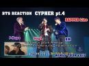 ENG/VIET SUB BTS Reaction CYPHER pt.4 Rapper line - WINGS TOUR 2017