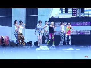[130810]속초음악대향연 2NE1 투에니원 - DO YOU LOVE ME [Rehearsal]