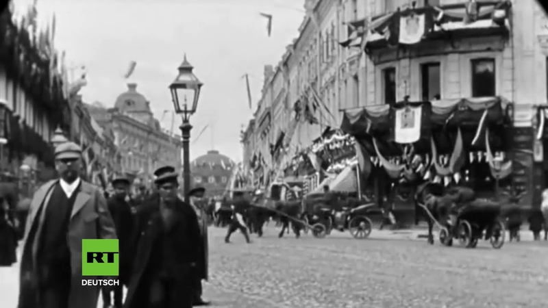 122 Jahre alte Aufnahmen So sah das Zentrum von Moskau damals aus