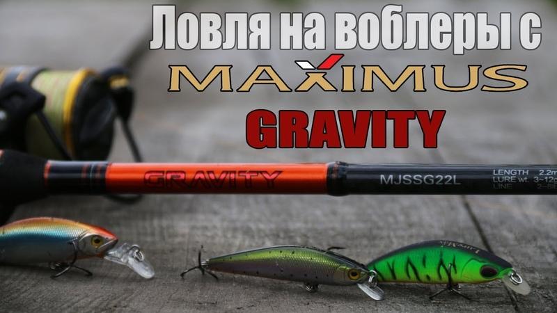 Ловля на воблеры с Maximus Gravity 22L