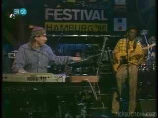 Richard Bona bass w/ Joe Zawinul live 1996