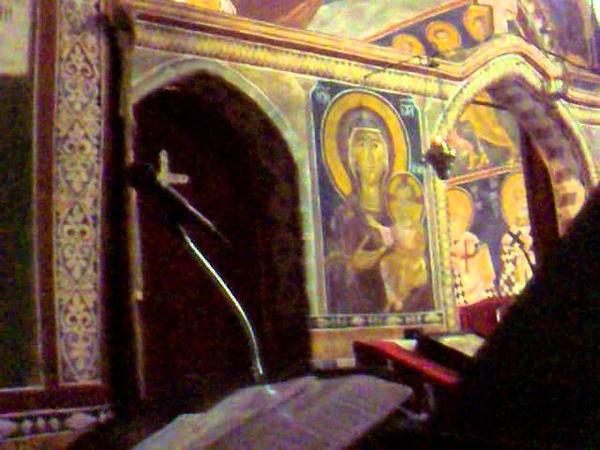 церковное пение Черногория Сербия-поют православные сербы и я (москвичка)