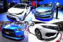 TOP 3 Affordable Sedans, All new Toyota Corolla, Honda Civic, Mitsubishi Lancer 2016, 2017 model