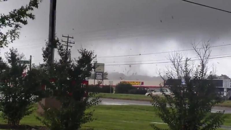 Торнадо в штате Вирджиния, США - 17 сентября 2018