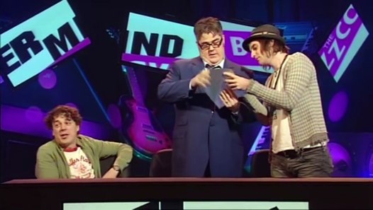 Alan Davies Intros Round QI or Buzzcocks Simon Amstell Never Mind The Buzzcocks video dailymotion