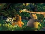 Мадагаскар 2 Побег в Африку Мелман против кротов Madagascar 2 Escape to Africa Melman vs Mole #7