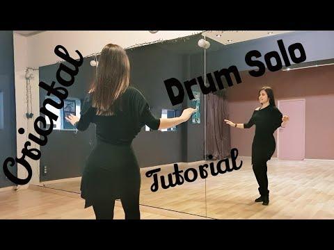 Μαθήμα Οριεντάλ Drum Solo για προχωρημένους   χορός της κοιλιάς Tutorial   Lia Verra
