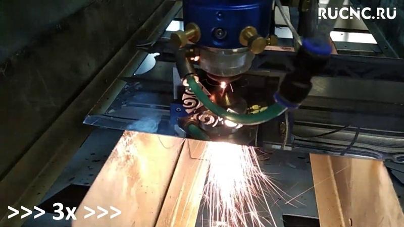 CO2 130W Резка нержавейки 0 5мм Cutting stainless steel 0 5mm