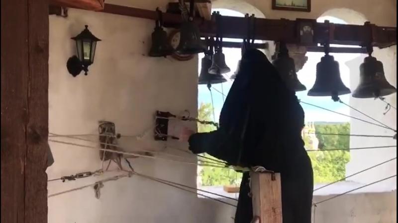 Иосифо-Волоцкий монастырь. Колокольный звон