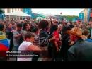 FIFA Fan Fest SPb 2000 мексиканцев танцуют паровозиком