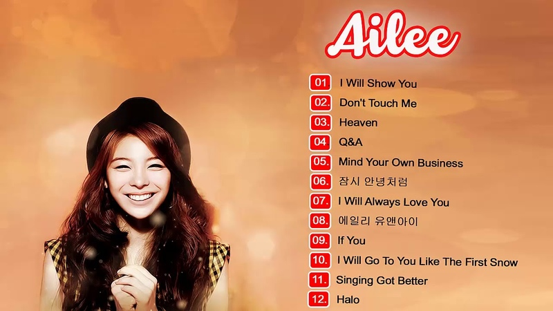 Best Songs Of Ailee (에일리) Top 20 - Ailee (에일리) Greates Hits