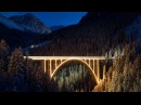 Chur Arosa Railway: A Trainlapse