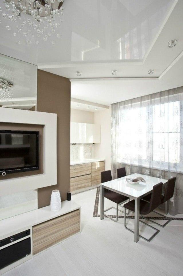 Стильный дизайн интерьера квартиры