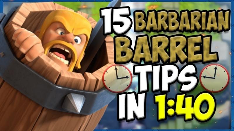 [ErnieC3] 15 QUICK Tips About: Barbarian Barrel
