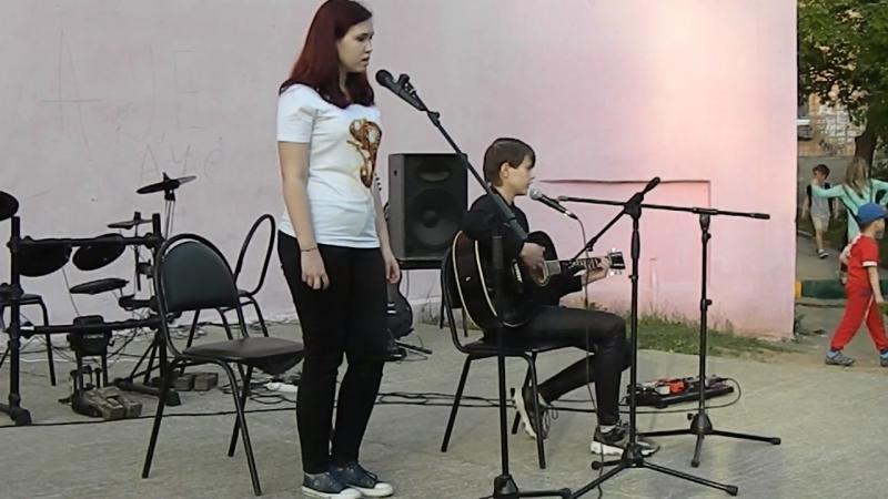 Милана Трошина Настя Вашурина Выхода нет кавер на гр Сплин смотреть онлайн без регистрации