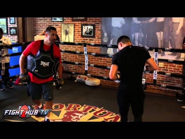 Evgeny Gradovich vs. Oscar Valdez Full Video- Complete Valdez mitt workout