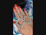 😍шикарные серьги 💎инкрустированы кристаллами ❗️ЦЕНА 1600₽❗️