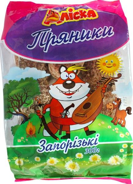 """Пряники """"Запорізькі"""" /Аліска/, 300 г"""