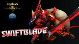 #HoN replays - #4x5 - #Swiftblade - 🇷🇺 `WhiteBear` #Gold I