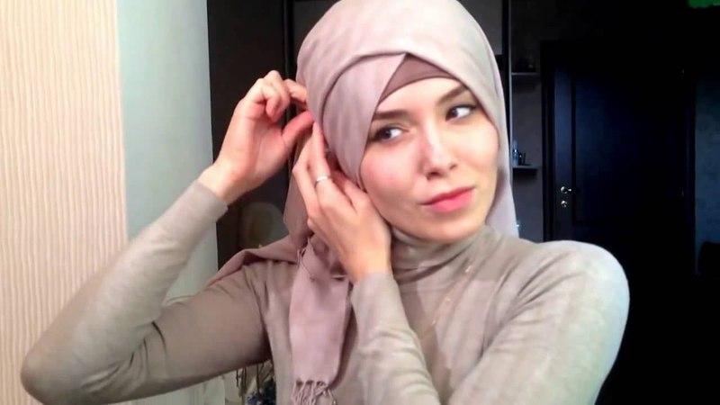 АМИРА САБИРЗЯНОВА Hijab tutorial Красиво завязать платок