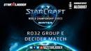 2019 WCS Winter EU Ro32 Group E Decider Match PtitDrogo P vs Kas T