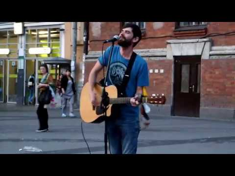 This street cover of Linkin Park's Numb wil make you cry Amazing street performance!