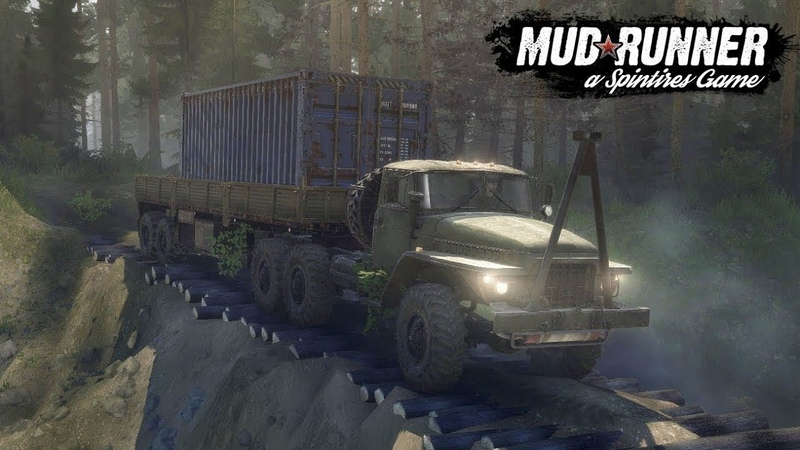 Spintires MudRunner - нарезка моментов